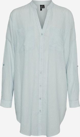 VERO MODA Блуза 'Isabell' в светлосиньо / бяло, Преглед на продукта