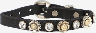 Campomaggi Armband in de kleur Goud / Zwart / Zilver / Transparant, Productweergave