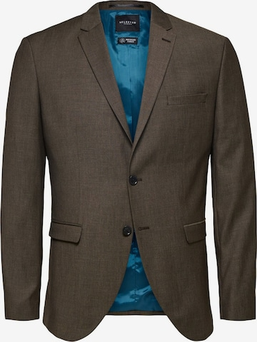 SELECTED HOMME Blazer in Braun