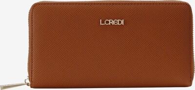 L.CREDI Portemonnaie 'Ebba' in braun, Produktansicht