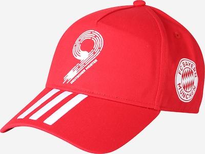 ADIDAS PERFORMANCE Спортна шапка 'FCB Meister21' в червено / бяло, Преглед на продукта