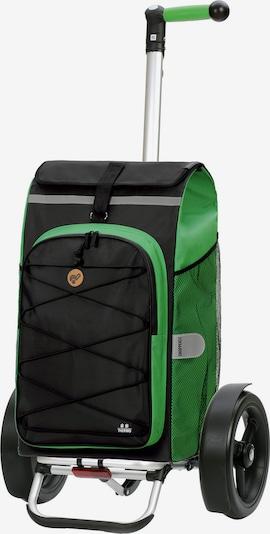 Andersen Shopper Einkaufstrolley ' Fado 2.0 ' in grün / schwarz, Produktansicht