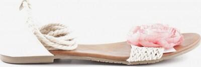 sacha Strandsandalen in 40 in pink / weiß, Produktansicht