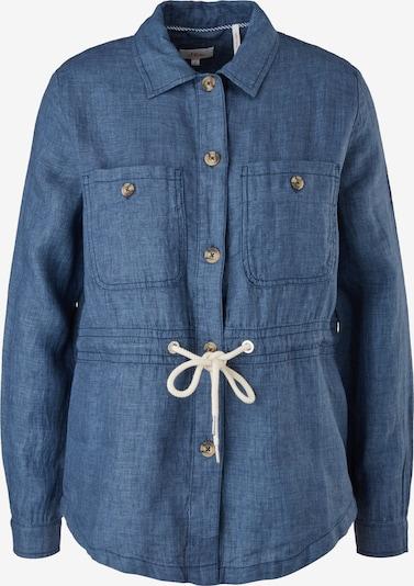 s.Oliver Between-Season Jacket in mottled blue, Item view