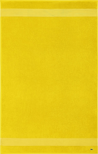 LACOSTE Handtuch 'LE CROCO' in gelb, Produktansicht