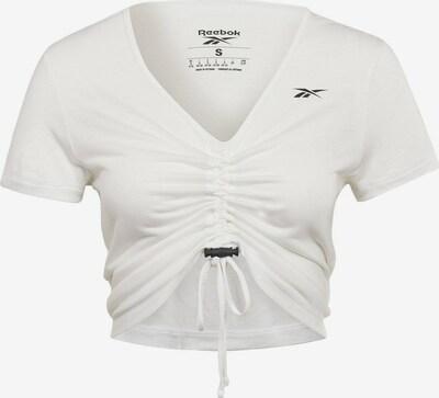 Reebok Sport Top deportivo 'MYT' en negro / blanco, Vista del producto