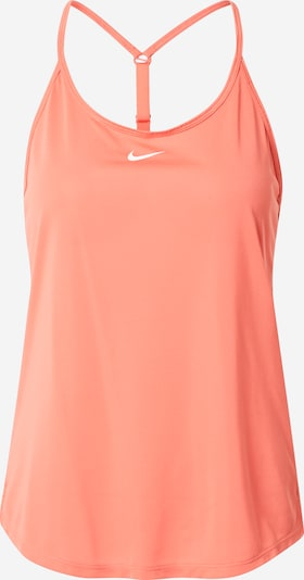 NIKE Sports Top in Salmon / White, Item view