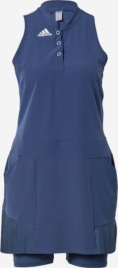 adidas Golf Sportska haljina u mornarsko plava / bijela, Pregled proizvoda