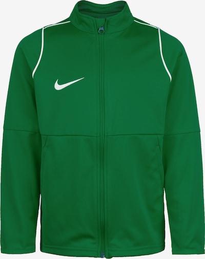 NIKE Trainingsjacke 'Park 20' in grasgrün / weiß, Produktansicht