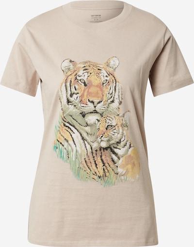 Cotton On Тениска 'CLASSIC ARTS' в капучино / пъстро, Преглед на продукта