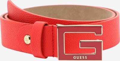 GUESS Gürtel in rot, Produktansicht