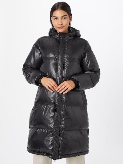 MADS NORGAARD COPENHAGEN Manteau d'hiver 'Shiny Poly Jolene' en noir, Vue avec modèle