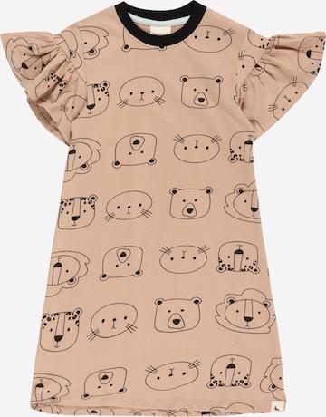 Turtledove London Kleit 'Cub Face', värv pruun