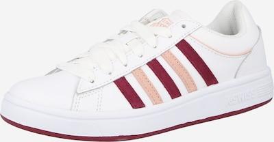 K-SWISS Zapatillas deportivas bajas 'Court Winston' en rosa / rojo sangre / blanco, Vista del producto