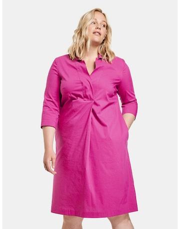 SAMOON Kleid in Pink