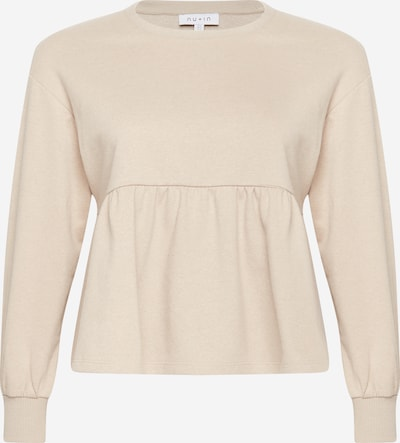 NU-IN Plus Sweatshirt in nude, Produktansicht