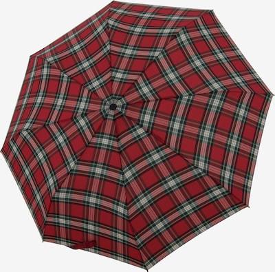 Doppler Parapluie 'Magic' en rouge pastel / noir / blanc, Vue avec produit