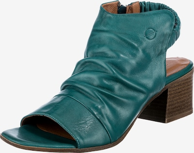 Paul Vesterbro Sandaletten in smaragd, Produktansicht