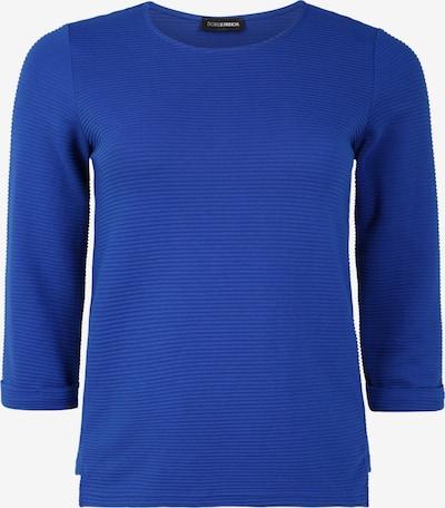 Doris Streich Pullover mit Krempelärmel in blau, Produktansicht