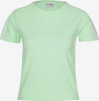 PUMA T-Shirt in mint / weiß, Produktansicht