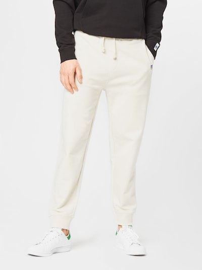 BOSS Casual Broek 'Jafa Russell Athletic' in de kleur Beige, Modelweergave