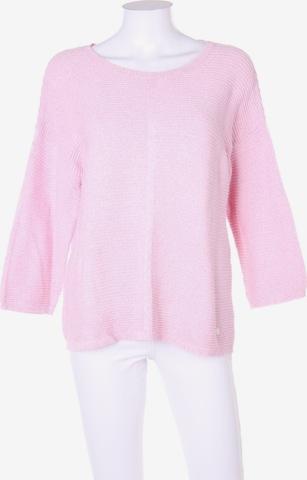 Cassis Baumwoll-Pullover in L in Beige