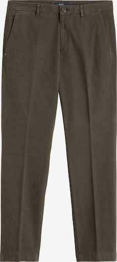 Boggi Milano Pantalon à plis en gris foncé, Vue avec produit