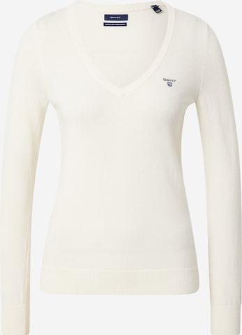 GANT Pullover in Weiß