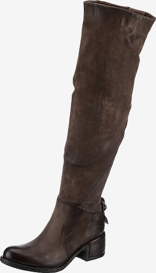 A.S.98 Over the Knee Boots in Dark brown, Item view