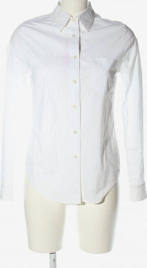 Firma Berlin Langarm-Bluse in S in weiß, Produktansicht