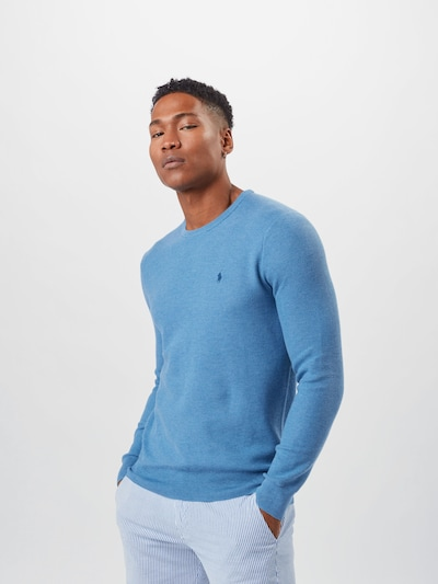 POLO RALPH LAUREN Sweater in Light blue: Frontal view