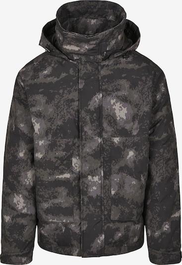 Urban Classics Veste d'hiver en taupe / gris clair / olive / noir, Vue avec produit