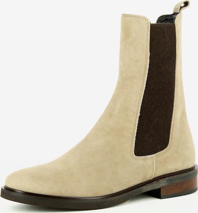 Gianluca Pisati Boots Eleonora in beige, Produktansicht