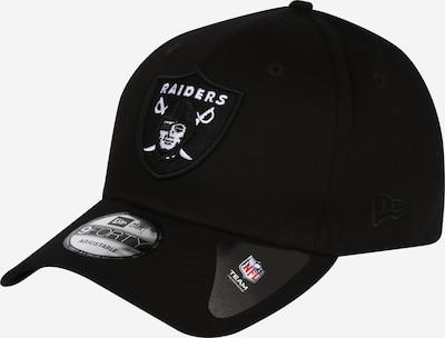 Cappello da baseball NEW ERA di colore nero / bianco, Visualizzazione prodotti