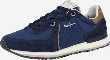 Pepe Jeans Ниски маратонки 'TINKER' в синьо