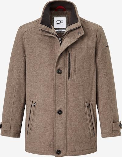 S4 Jackets Wollmantel in beige, Produktansicht