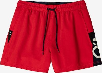 O'NEILL Sportbadehose in rot / schwarz / weiß, Produktansicht