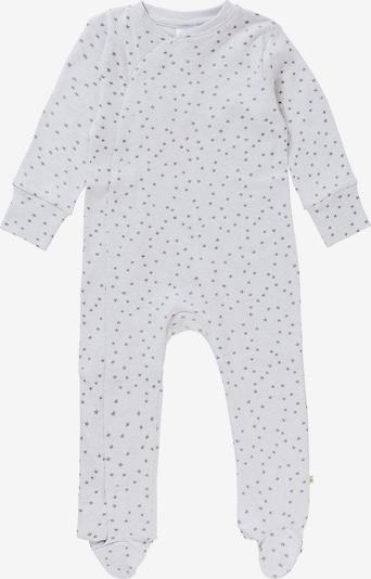 STACCATO Schlafanzug in hellgrau / weiß, Produktansicht