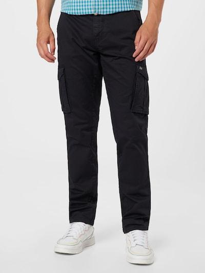 BLEND Cargobyxa i svart, På modell