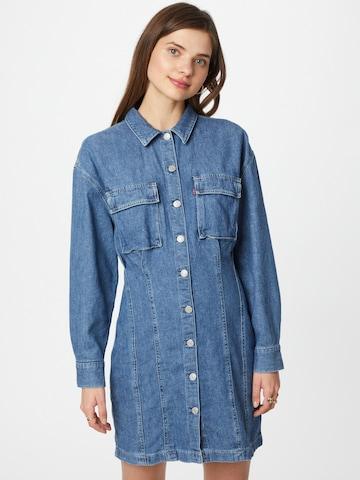 mėlyna LEVI'S Palaidinės tipo suknelė 'BRAELYN'