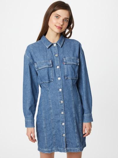 LEVI'S Robe-chemise 'BRAELYN' en bleu denim, Vue avec modèle