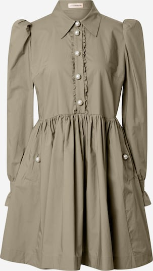 Custommade Shirt dress 'Lila' in Olive, Item view