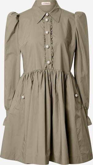 Custommade Košulja haljina 'Lila' u maslinasta, Pregled proizvoda