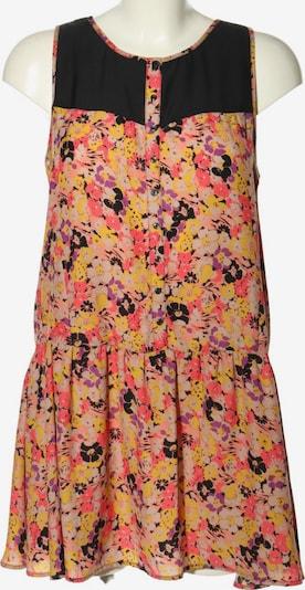 Kimchi Blue A-Linien Kleid in M in pastellgelb / pink / schwarz, Produktansicht