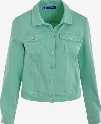 Navigazione Modische Jeansjacke in pastellgrün, Produktansicht