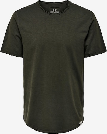 Only & Sons T-Shirt 'ONSBENNE' in Grün