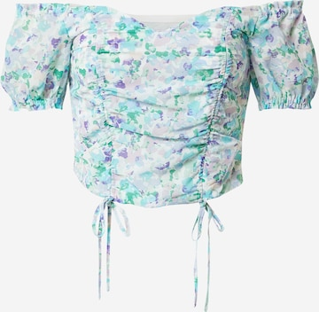 NA-KD Blouse in Mixed colours