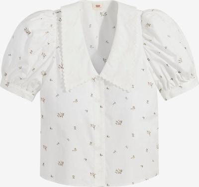 LEVI'S Bluse in grün / rosa / weiß, Produktansicht
