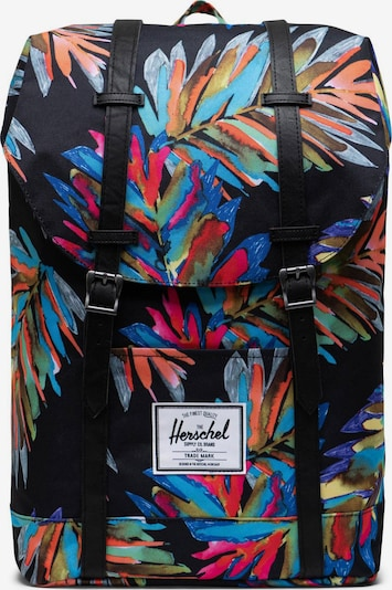 Herschel Batoh 'Retreat' - tmavě modrá / olivová / tmavě fialová / pink / černá, Produkt