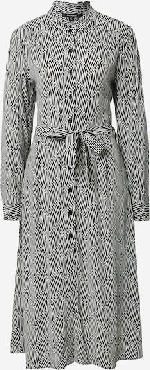 True Religion Robe-chemise en noir / blanc, Vue avec produit
